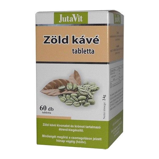 zöld kávébab tabletta